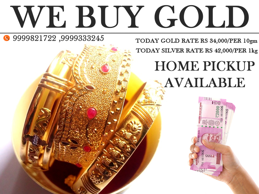 Where To Sell Gold For Cash? - Cash For Gold In Delhi NCR