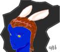 2011年だから2011枚のうさぎ娘の絵を描くよ