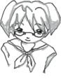 はてなハイカーさん、セーラー服で眼鏡の女の子のイラスト欲しい!