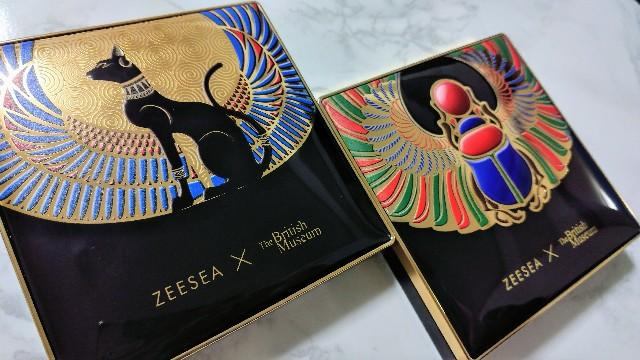 zeesea アイシャドウパレット 大英博物館 コラボ 中国コスメ チャイボーグ