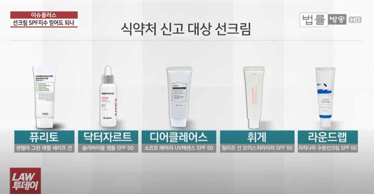 韓国コスメ、日焼け止め、偽装、SPF50、UV、ドクタージャルト