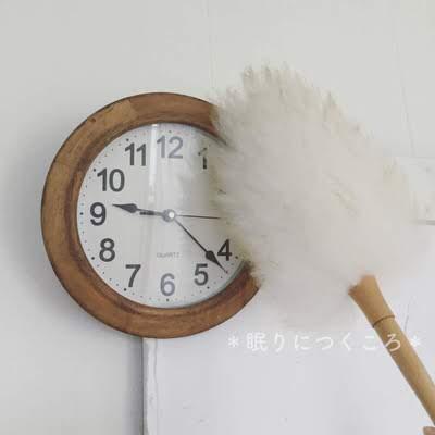 時計についているホコリを羊毛ダスターで拭く