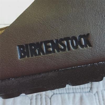 BIRKENSTOCKの刻印がおしゃれ