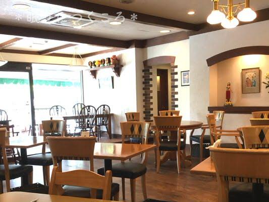 マルコポーロのカフェスペース
