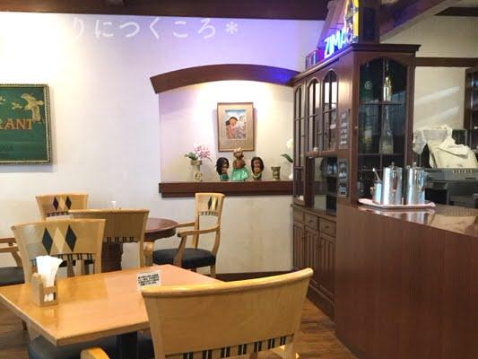 マルコポーロのカフェスペースお水コーナー