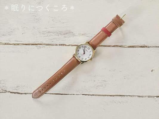 タイメックスの腕時計イージーリーダー全体