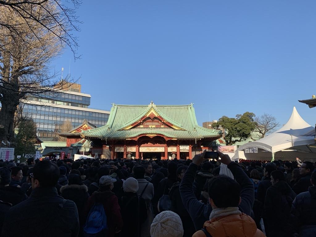 神田明神(隨神門を通過)