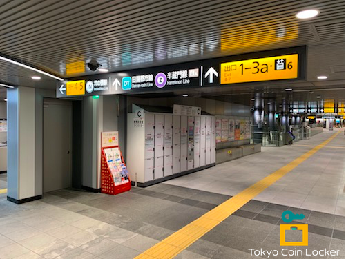 渋谷駅 ハチ公改札前 コインロッカー