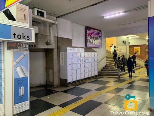 JR渋谷駅・玉川改札口コインロッカー