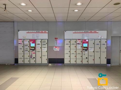 京王井の頭線渋谷駅・中央改札口コインロッカー