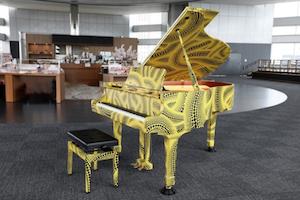 東京都庁ストリートピアノ「おもいでピアノ」