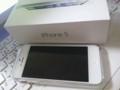 予約してから17日目でゲットしたiphone5 64G au