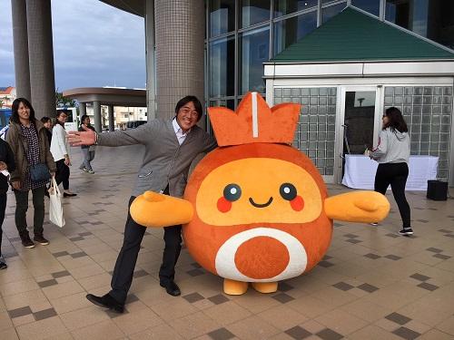 沖縄北谷町キャラクター『ちーたん』