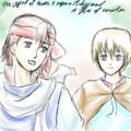 アヴィン&マイル(朱紅い雫)