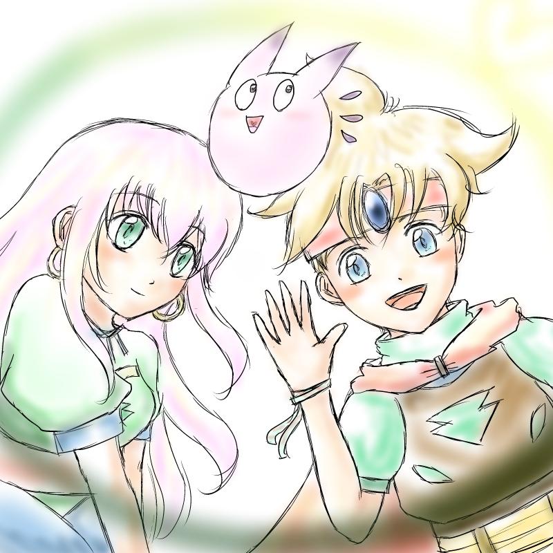 アーク&エル&ヨミ(天地創造)