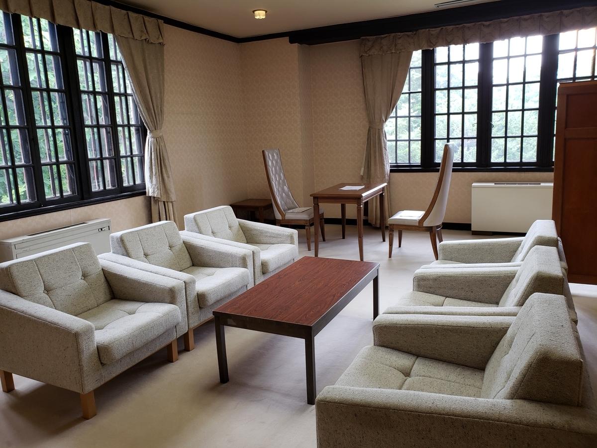 知事公館寝室
