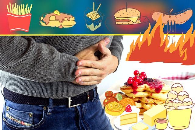 偏食による腹痛