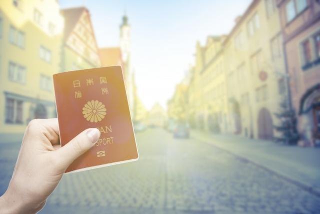 パスポートと人生を変えた言葉
