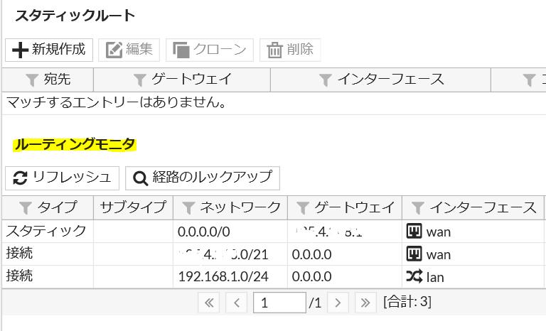 routingtable