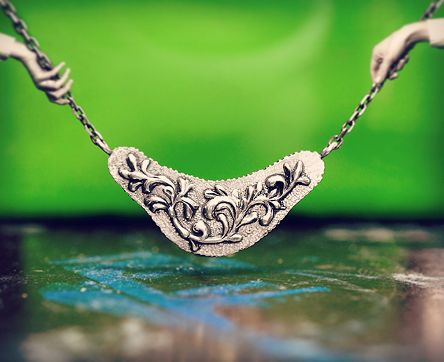 Nao Segawa|jewelry|necklace|Arabesque|セガワナオのジュエリー、アラベスクネックレス