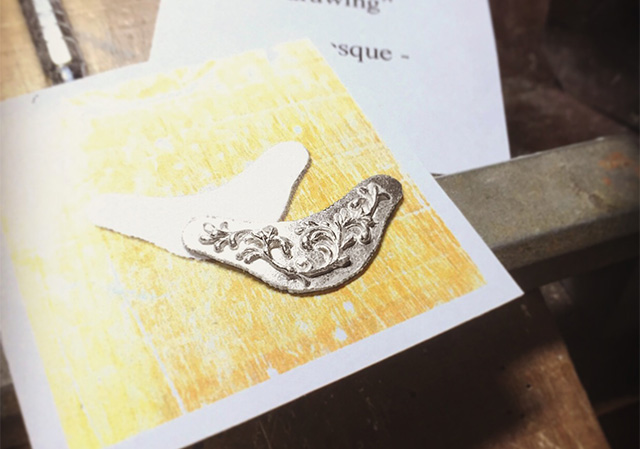 Nao Segawa|jewelry|necklace|Arabesque|アラベスクネックレスの製作途中