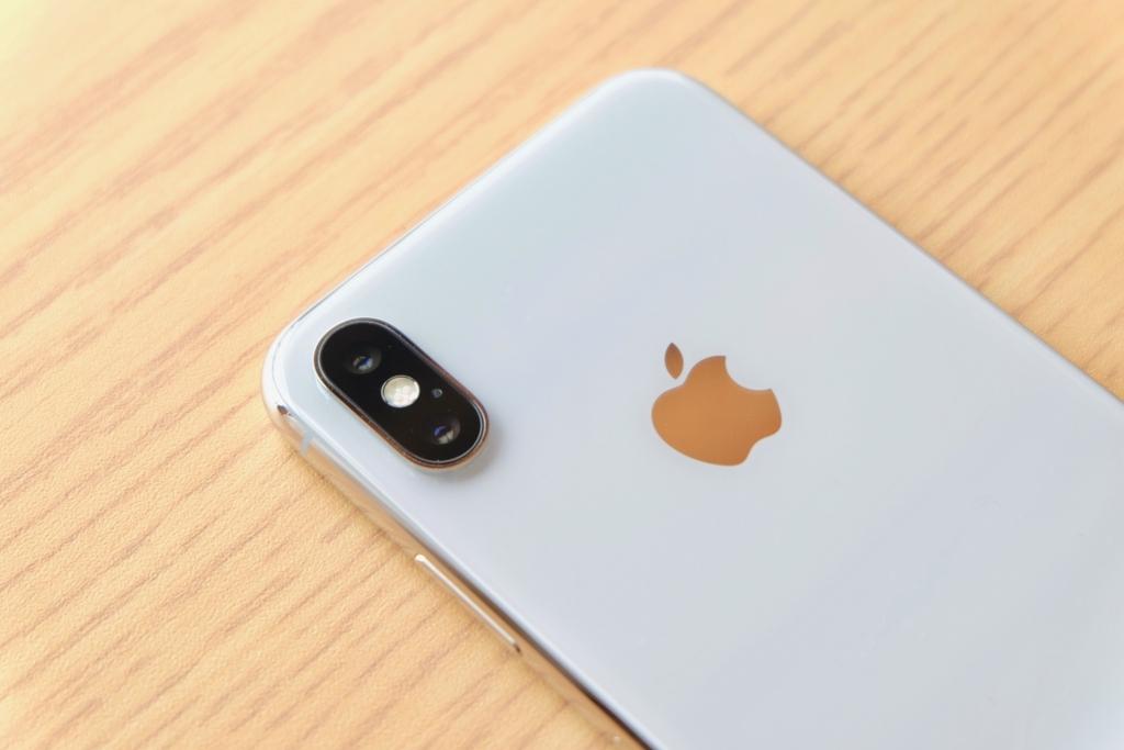 iPhoneXカメラ部分
