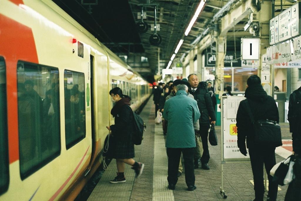 新潟駅地上ホーム1番線