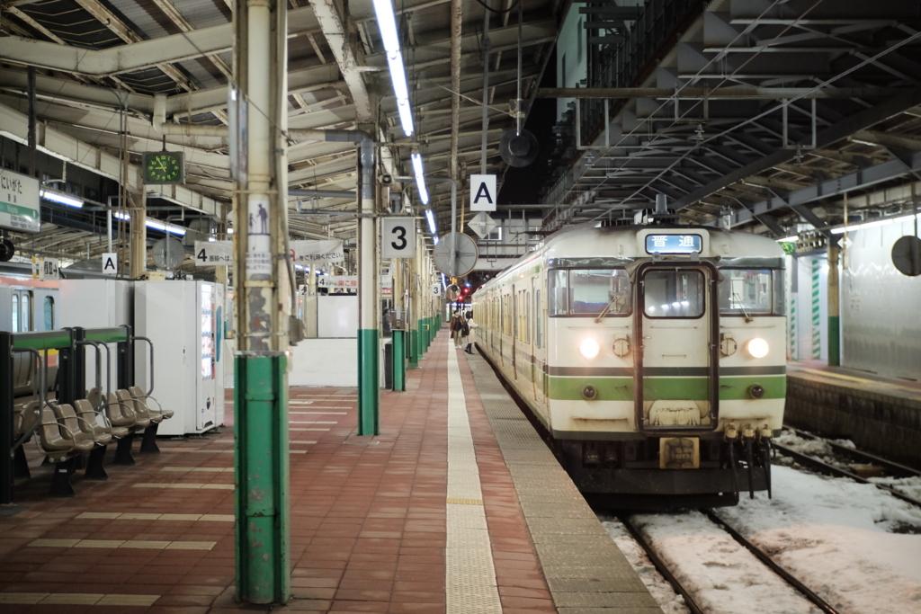 Meike 35mm f1.7 新潟駅地上ホーム