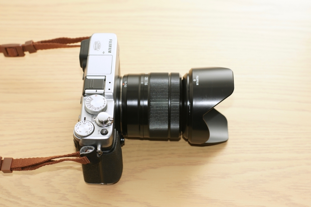 XC16-50mm F3.5-5.6 OIS 広角端のレンズ長