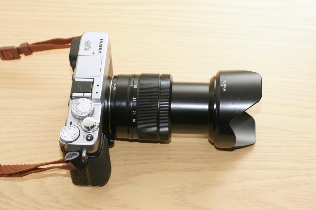 XC16-50mm F3.5-5.6 OIS 望遠端のレンズ長