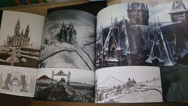 ギレルモ・デル・トロ クリムゾン・ピーク アート・オブ・ダークネス