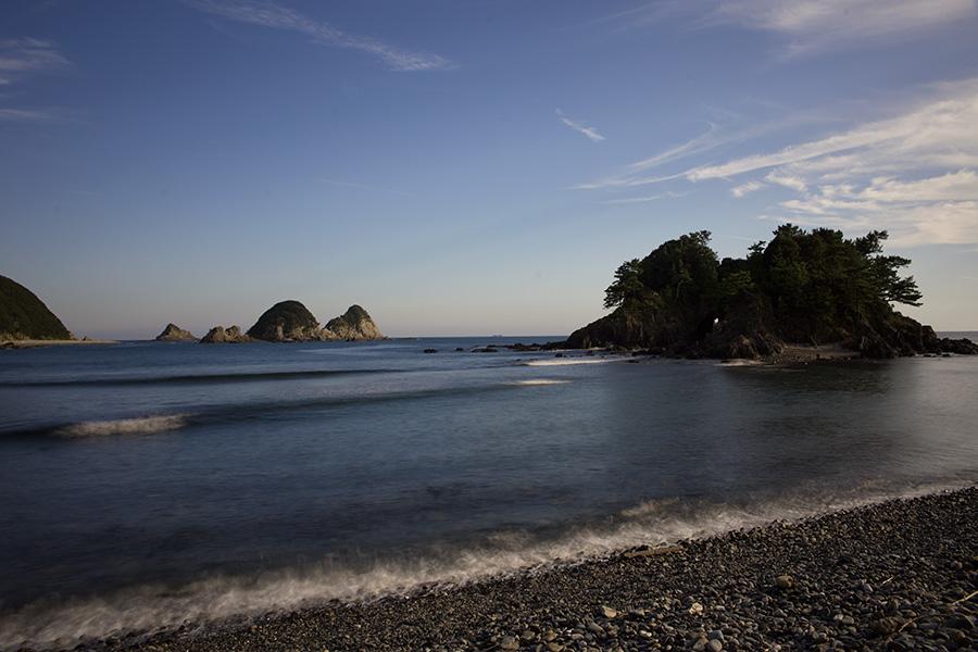 足摺方面の海の写真