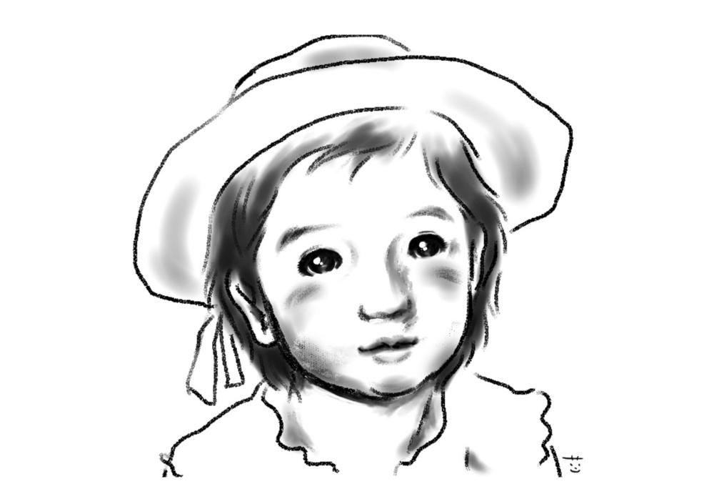 [白い帽子]