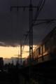 [Train] 矢田川中央線橋梁にて
