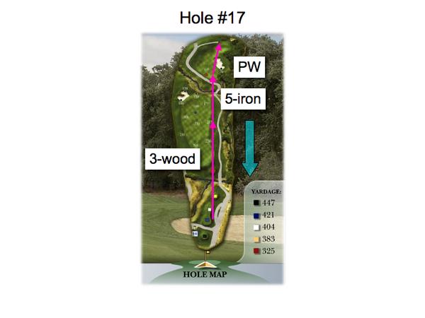 Callippe Golf Course, Hole #17 Par-4