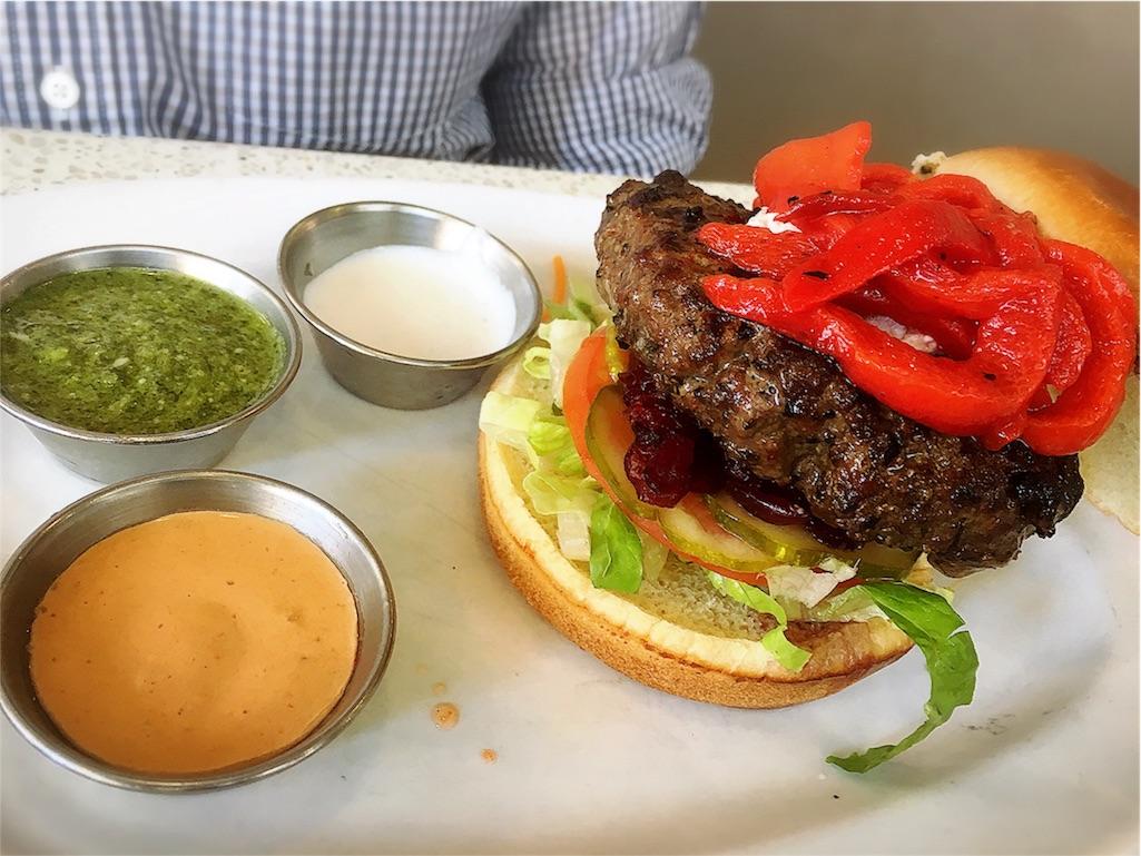 ハンバーガー アメリカ