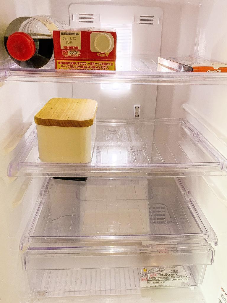 冷蔵庫 ミニマリズム