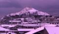 雪のモニュメントヒル