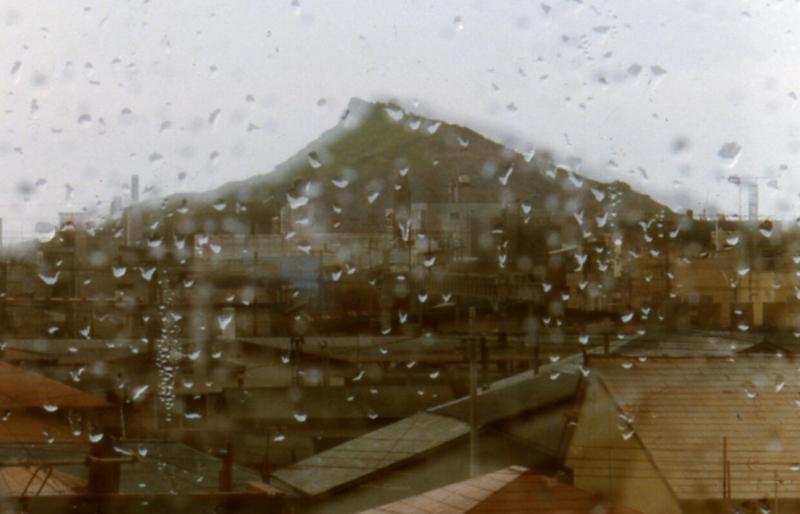 """雨の""""栄富士"""""""