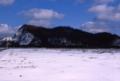 茶津山と埋め立て地