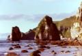 トッカリショの大岩