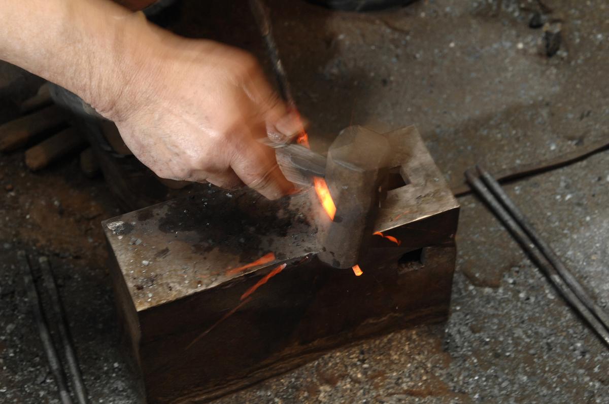 南部鉄器の作成