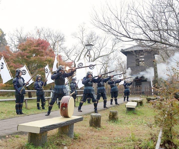 信州高遠藩鉄砲隊