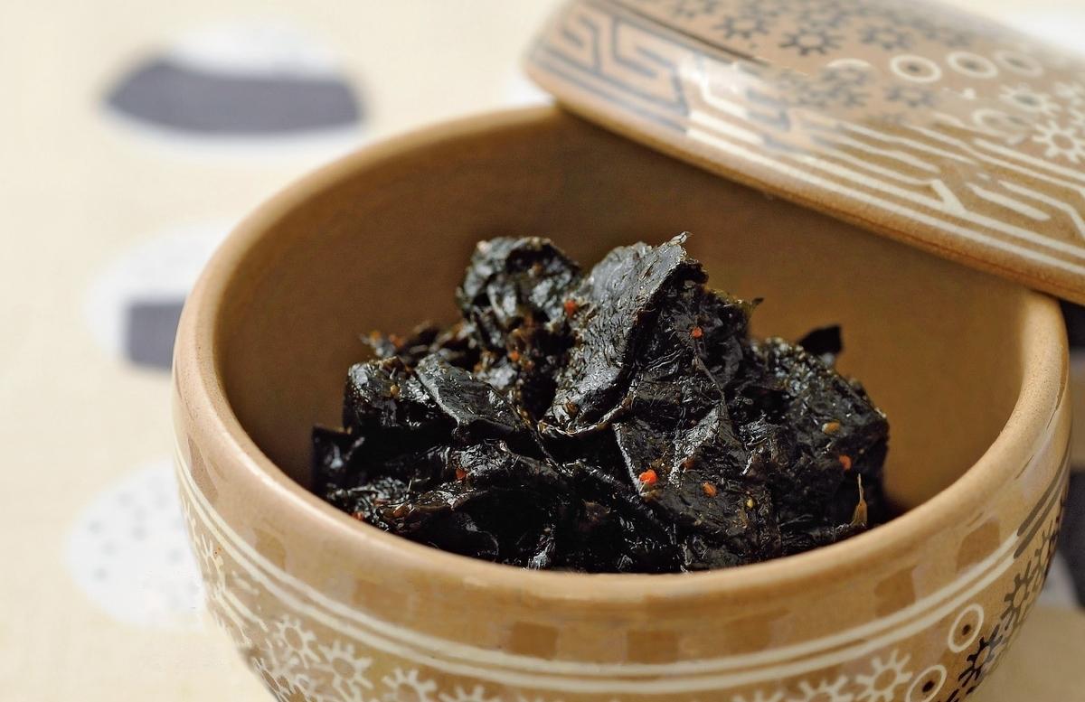 韓国のりのピリ辛佃煮
