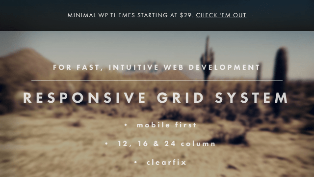 Responsive Grid Systemと