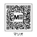 MiiマリオQRコード