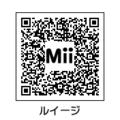 MiiルイージQRコード