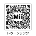 MiiトゥーンリンクQRコード