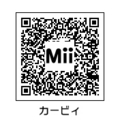 MiiカービィQRコード