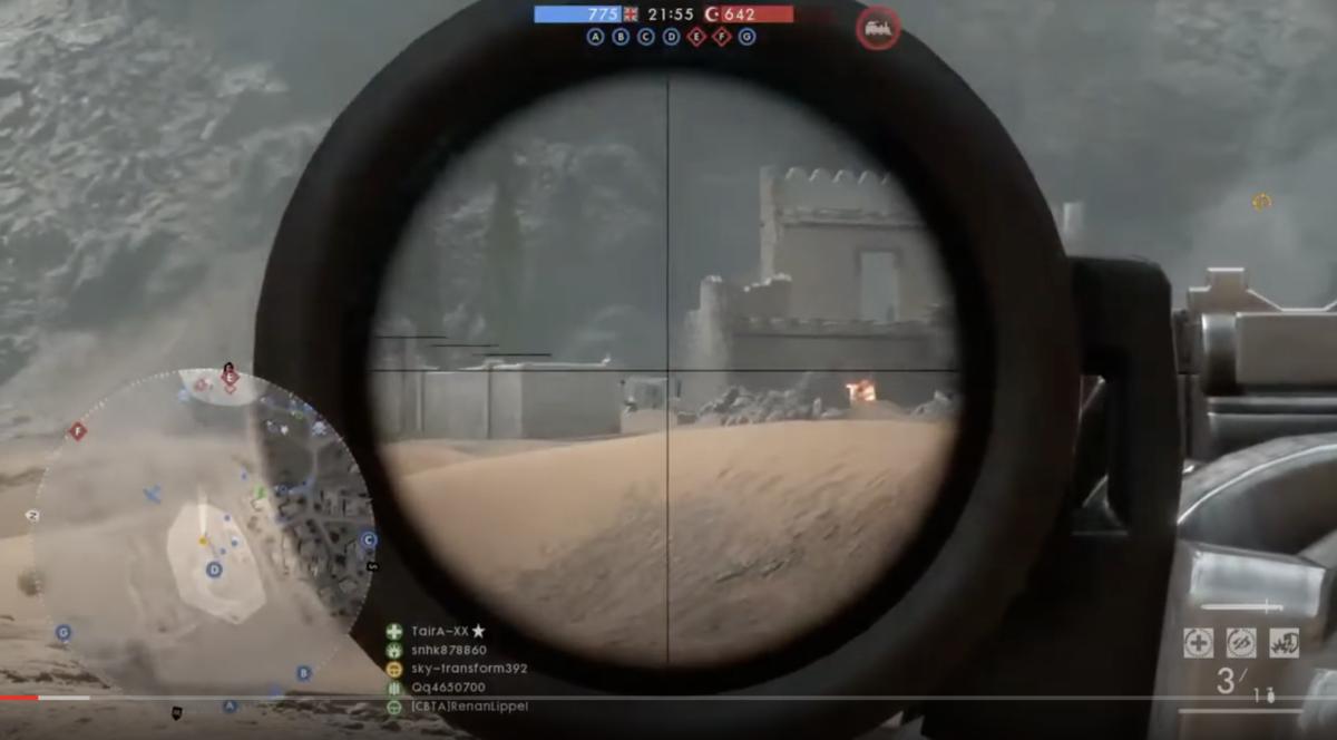 battlefield1 プレイ画像